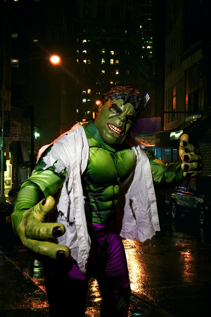 The Incredible Hulk Cosplay