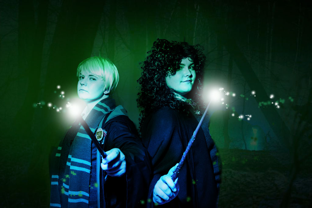 Harry Potter Malfoy & Hermione Cosplay