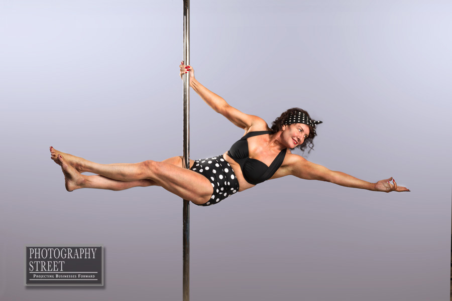 Shirley Hoyles pole fitness published image