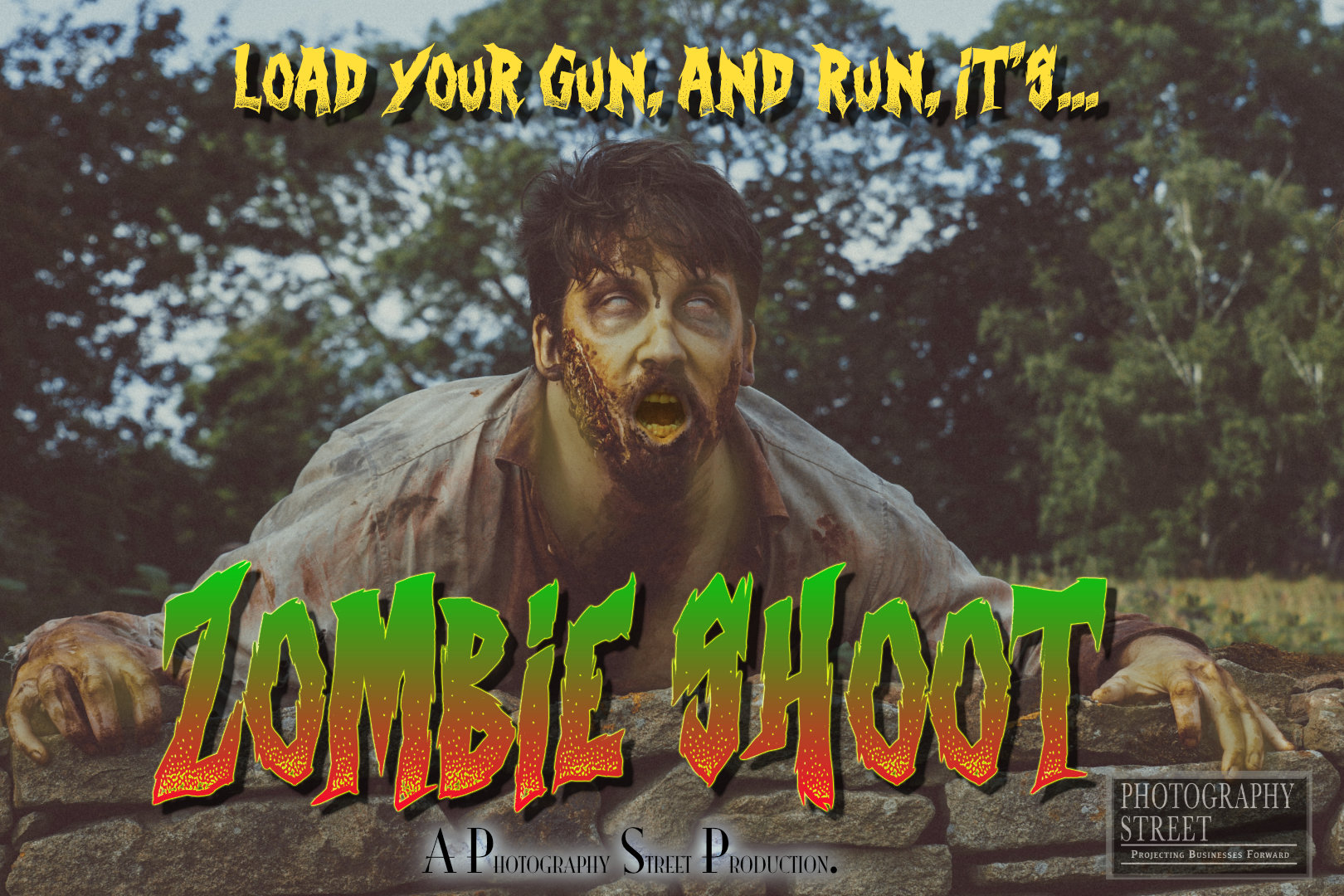 Zombie Shoot movie poster